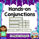 Hands on Conjunctions: Coordinating and Subordinating Conjunctions Activities