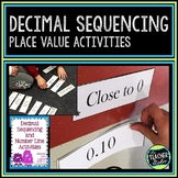 Hands on Decimal Sequencing:  Common Core Aligned