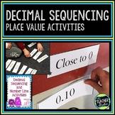 Decimal Sequencing Activities:  Common Core Aligned