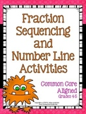 Hands on Fraction Sequencing:  Common Core Aligned