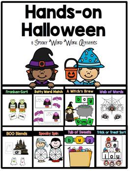 Hands on Halloween Literacy Activities