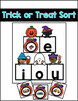 Halloween Word Work Activities