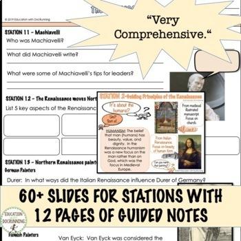 Renaissance Curriculum Bundle UPDATED