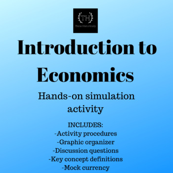 Hands-on Introduction to Economics Activity