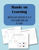 Hands on Learning- Addition and Subtraction Up to 20