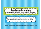 Hands-on Learning Pack for Classroom Management, Character