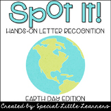 Hands-on Letter Recognition {Earth Day Themed}