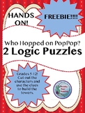 Logic Puzzle, Who Hopped on Pop, Hands ON!
