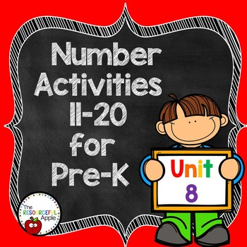 Pre-K Math Unit 8: Numbers 11-20