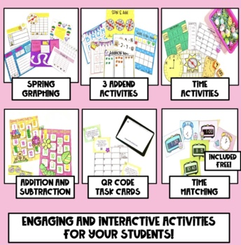 Hands on Math Activities for Spring
