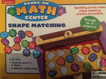 Hands-on Math Center: Shape Matching
