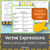 Verbal Expressions: Mental Math with Goldfish