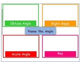 Hands-on-Math Sorting Right Angles, Acute Angles, Obtuse A
