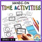 Telling Time Math centers | Grade1 & Grade 2