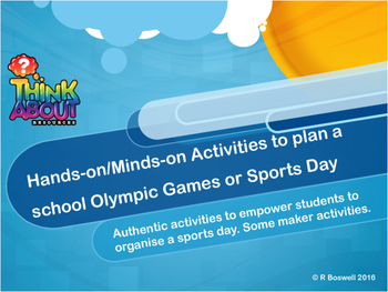 Hands-on Minds on Organising the School Sports Day or Scho