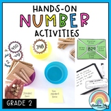 Hands on Math activities - Number sense Math centres - Grade 2