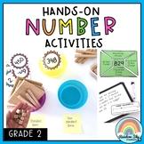 Hands-on Math activities - Number sense Math centres Grade 2
