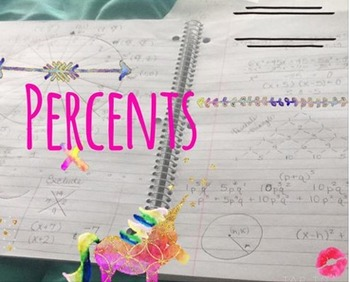Hands on Percentages