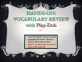 HIGH INTEREST, hands-on Vocabulary Game for ALL subjects!