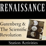 The Scientific Revolution and the Printing Press 5 Station Activities UPDATED