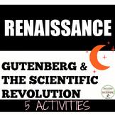 Scientific Revolution Activities plus Printing Press