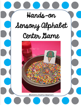 Hands-on Sensory Alphabet Center