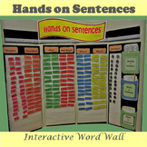 Hands on Sentences Interactive Word Wall