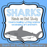 Hands on Shark Unit Study for Elementary