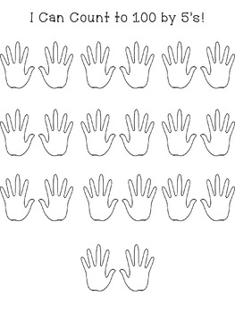 Hands on Skip Counting {by 5's}