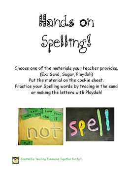 Hands on Spelling