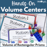 Hands-on Volume Activities - Volume of Rectangular Prisms