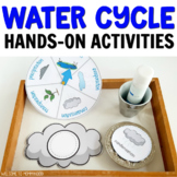 Hands-on Water Cycle Activities for Kindergarten or Montessori Activities