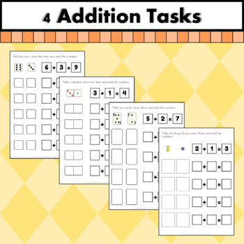 Hands on addition and subtraction practice
