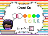 Hands-on and Mental Math Addition Strategies Posters with