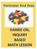 Hands on, inquiry based printable math lesson