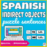 Hands-on learning: indirect object pronouns in Spanish