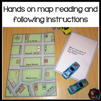 Hands on mapping Montessori inspired
