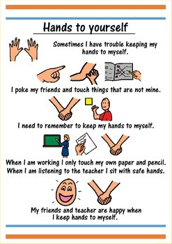 Hands To Yourself Social Story By Thinking Tree Resources