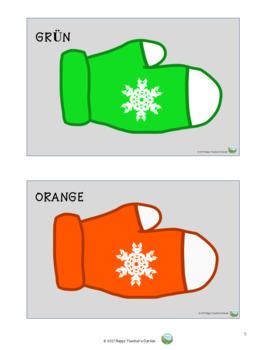 Handschuhe - Bildkarten