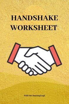 Handshake Worksheet