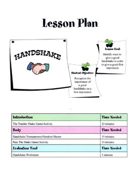 Handshaking Lesson