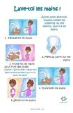 Handwashing Poster (French version)