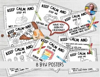 Coronavirus Prevention Handwashing Posters Corona Virus   TpT