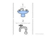 Handwashing Task Analysis with Visual Task Cards