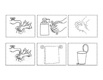 Handwashing--Interactive Book---English and Spanish Bundle
