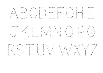 Handwrite the alphabet