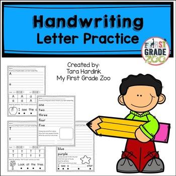 Handwriting - Letter Practice