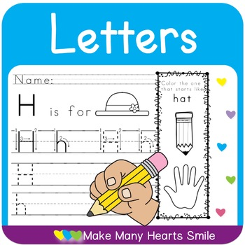 Letter Recognition and Handwriting Worksheets