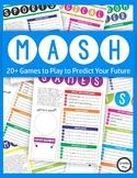 Handwriting: 20+ MASH Games