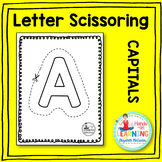 Capital Letter Scissoring - Distance Learning Appropriate